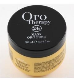 Maschera per capelli orotherapy 24k oro puro con olio di argan 300ml Fanola