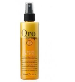 Condizionatore bifasico illuminante oro puro olio di argan 200 ml