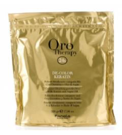 Polvere decolorante per capelli de-color keratin olio di argan 500 Ml Fanola