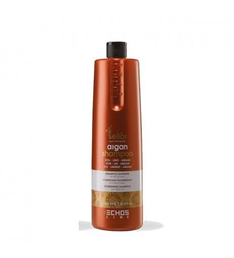 Shampoo hair with argan oil Echosline 1000ml