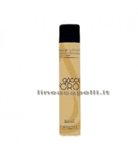 Professional Hairspray 500ml Drops Gold