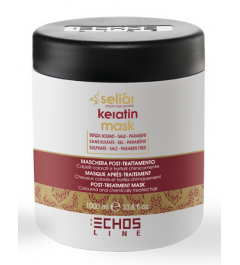 aftertreatment mask colored hair and chemically treated Seliar Keratin Echosline