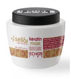 Keratin mask Seliar post-treatment hair colored and chemically treated 500ml Echosline