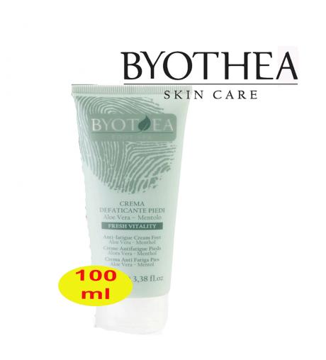 Crema piedi defaticante Aloe Vera e Mentolo 100ml Byothea