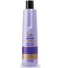 Shampoo per capelli con platino e olio di Argan Seliar Blonde 350 ml