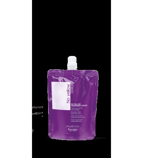 Anti-yellow purple hair removal cream No yellow color 500gr Fanola