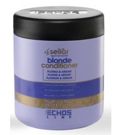 Conditioner per capelli biondi con meches Seliar Blonde 1000 ml