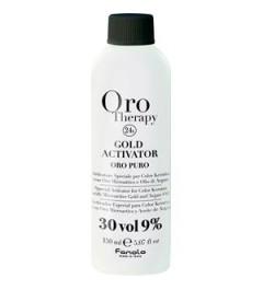Ossigeno 20 vol. con oro microattivo e olio di argan 1000ml