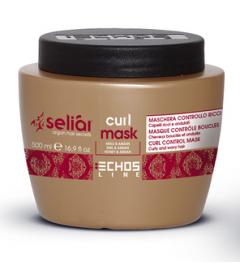 Maschera per capelli Controllo Ricci Echos Line Seliar Curl 500 ml