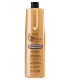 Ki Power molecular reconstruction shampoo with keratin and hyaluronic acid 1000ml Echosline