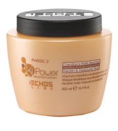 Maschera echosline capelli cheratinica ricostruzione molecolare KI POWER 500 ml