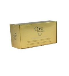 Lozione per capelli all'olio di argan 12 fiale da 10 ml - Fanola Oro Therapy
