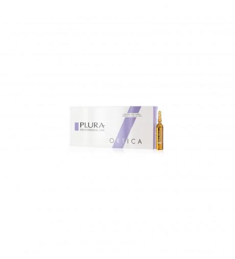 Lozione per Capelli Anti Forfora Ortica 10 fiale da 10 ml - Plura Professional