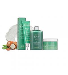 Kit remineralizzante: Shampoo 385ml + Maschera 250ml + Fango 150ml B.Pur Echosline