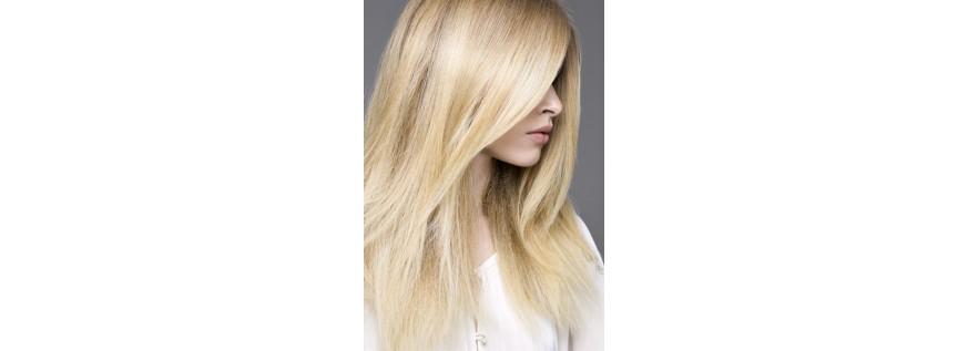 Super-light or bleached hair
